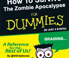 "How To: Survive the Zombie Apocalypse After really getting into AMC's Sunday night hit ""The Walking Dead"", I usually read up on other peoples opinions via Twitter as it takes […]"
