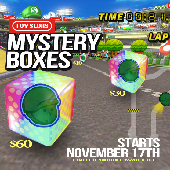 Toy Mystery Box : Toy sldrs mystery boxes