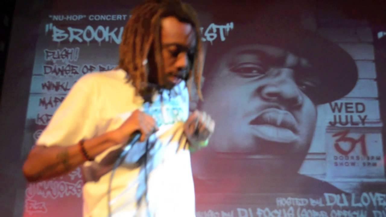 Dom O Briggs performs @ SOBs