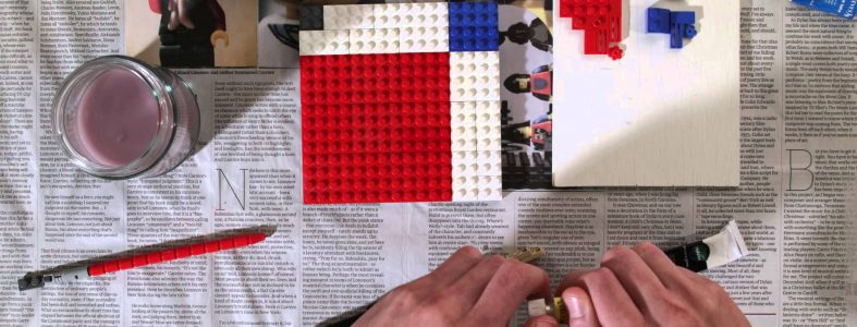 Painting…with Lego.